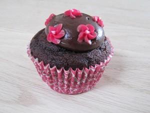 Chokolade muffins med kakao