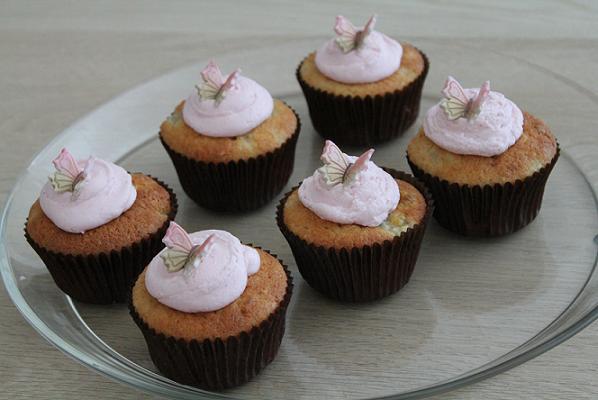 Banan cupcakes