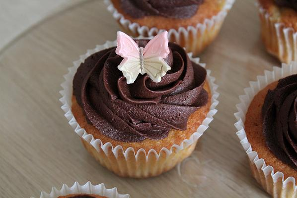 Cupcakes med pynt