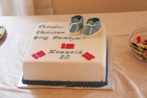 Dåbs & Fødselsdags kage i en.