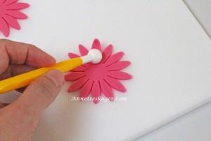 Teknik til fondant blomster