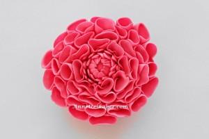 Guide til en Dahlia blomst