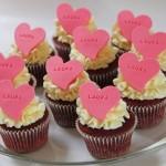 Cupcakes med navn