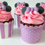 Mini mousse cupcakes
