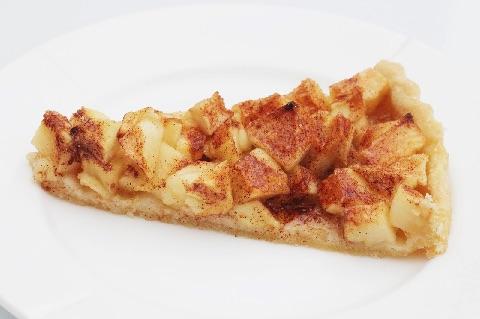 Gammeldags æbletærte med mørdej