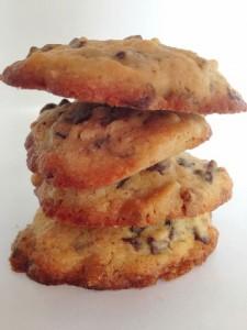Amerikanske cookies - Annetteskager