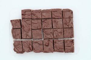 Nem chokolade fudge