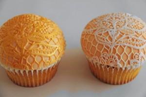 Spiseligt pynt til cupcakes