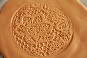 Smuk lace prægning