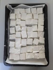 Hjemmelavede skumfiduser glukosesirup