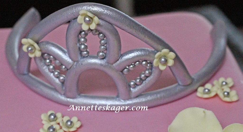Prinsessekage i fondant