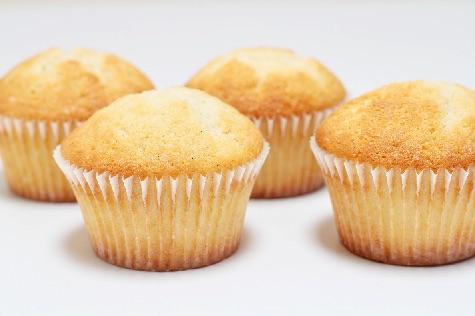 Vanilje cupcakes med creme fraiche