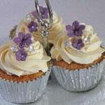 Vanilje cupcakes med hakket chokolade