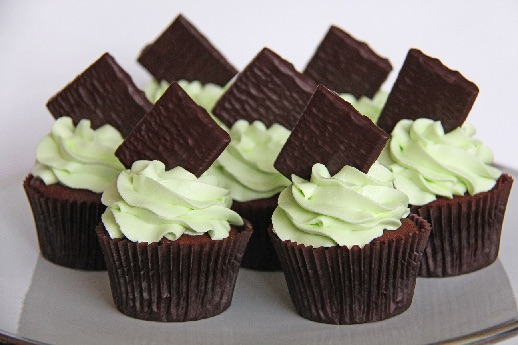 Pebermynte frosting med after eight