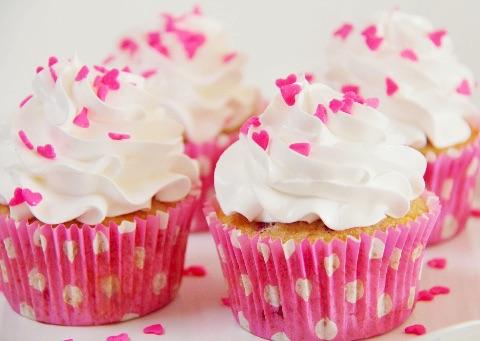 Hindbær muffins