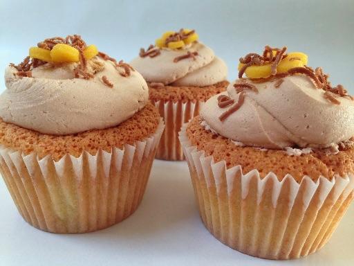 Marcipan cupcakes