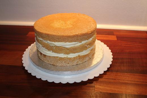 Fondant kage med smørcreme - Annettes Kager