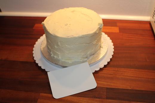 Smørcreme til fondant kage