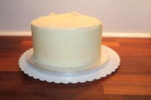 Fondant kage med smørcreme