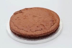 Chokoladekage med hindbær mousse - Annettes kager