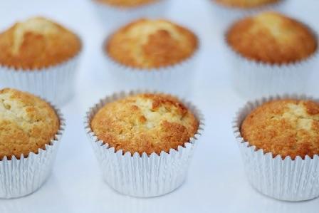 Vanilje cupcakes med skyr 1