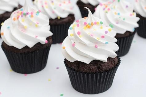 Chokolade cupcakes 5