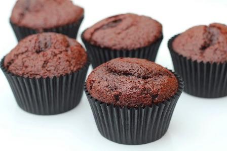 Chokolade cupcakes