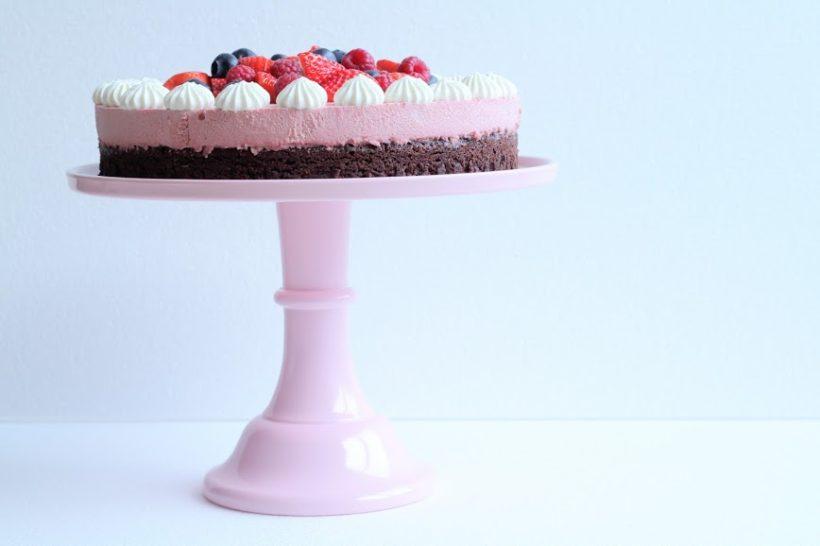 Chokoladekage med mousse - Annettes kager