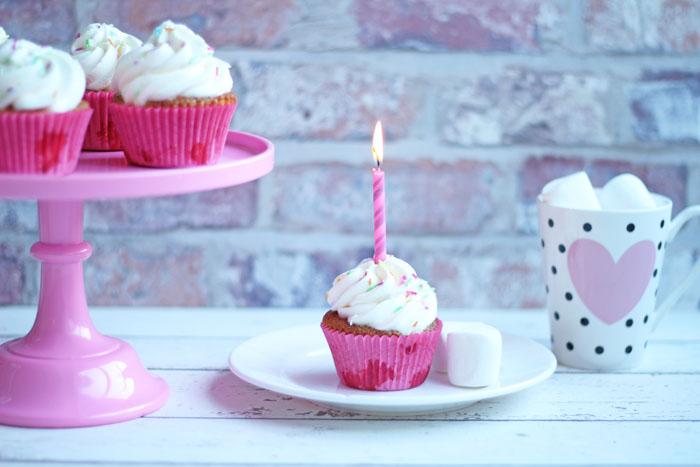 Kager til pigefødselsdag