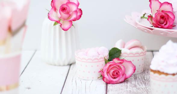 Lyserødt slik til pige fødselsdag - Annetteskager