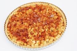 Nem hjemmelavet æbletærte opskrift med kanel