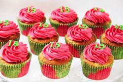 Billeder af cupcakes