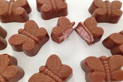 Chokolade med bountyfyld