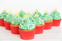 Cupcakes med julekrydderier