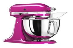 KitchenAid køkkenmaskine i pink
