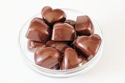 Chokolade med lemon curd