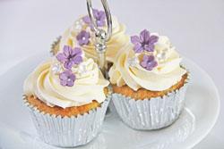 Vanilje cupcakes med chokoladestykker
