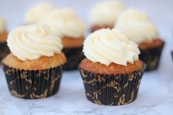 Cupcakes med æble og karamel