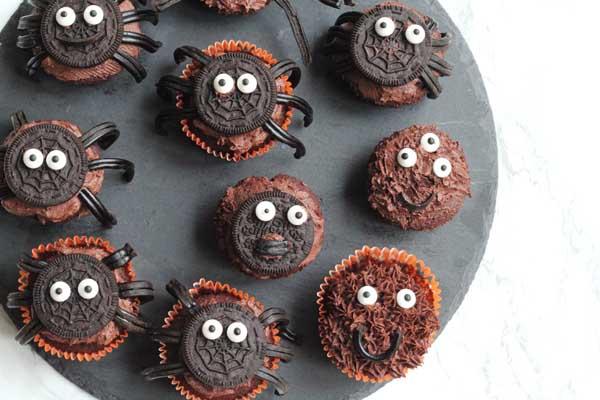 Muffins opskrift til halloween